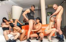 Big Tits Orgy